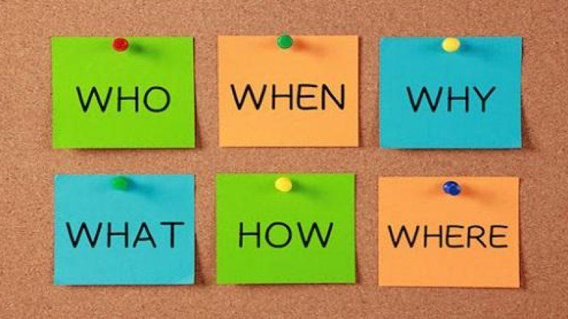 5W1H là gì? Ý nghĩa và ứng dụng thực tiễn của 5W1H trong xây dựng kế hoạch marketing