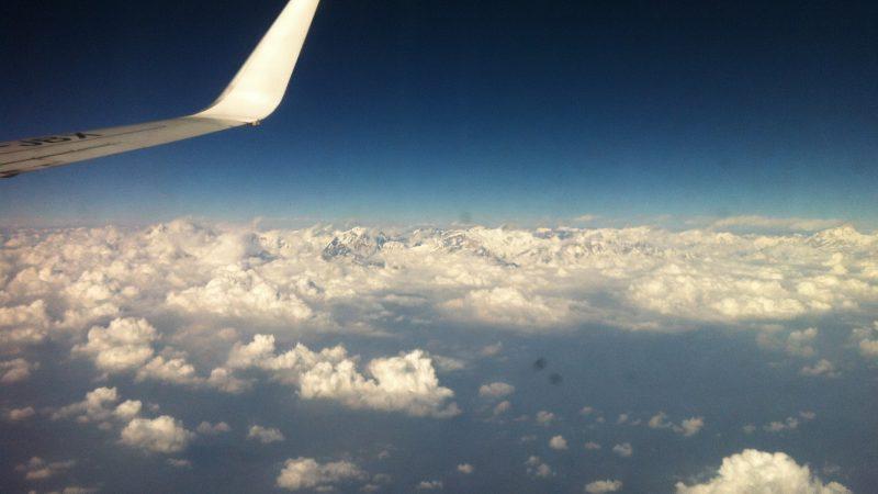 Himalaya, bất ngờ từ cửa sổ máy bay