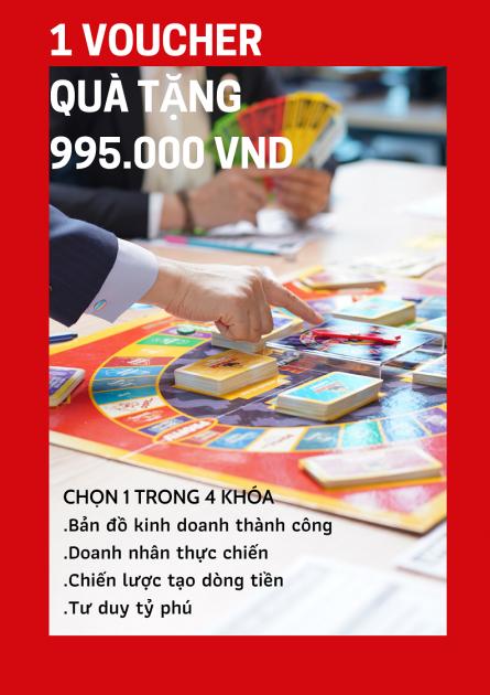 1 VOUCHER QUÀ TẶNG 995.000 vnd